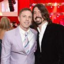 Dave Grohl and Jake Shears attend the 21st annual Elton John Aids Foundation on February 24, 2013