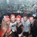 Cathy, David Guetta, Dasha, Fernando and Francisco Ferrer - 454 x 315