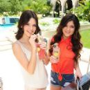 Tis the season for cookouts and cuties, and Kendall and Kylie Jenner were spotted at a summer barbecue sipping on Hubert's Lemonade