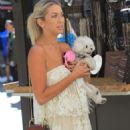 Stassi Schroeder – Shopping candidsa at The Grove in West Hollywood