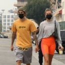 Hailey Bieber and Justin Bieber – Seen while hold hands in Beverly Hills