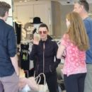 Kyle Richards is spotted outside her clothing store Kyle by Alene Too in Beverly Hills, California on March 31, 2016. Kyle chatted it up with fans before heading out for the day - 422 x 600
