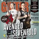 Synyster Gates - Guitar World Magazine Cover [United States] (October 2013)