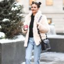 Victoria Justice – Out and About During New York Fashion Week, February 2017 - 454 x 653
