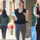 Ashley Greene in Spandex – Out in Sherman Oaks