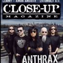 Anthrax - Close-Up Magazine Cover [Sweden] (February 2016)