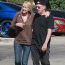 Daryl Hannah looked loved up with Neil Young as they headed to a restaurant in Westlake, California, on Tuesday September 9, 2014