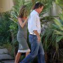 Jennifer Aniston - Giving A Big Warm Hug To Her Top Publicist Stephen Huvane In Beverly Hills, 08.10.2008.