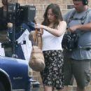 Dakota Johnson – On the set of 'The Peanut Butter Falcon' in Savannah