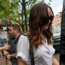 Dakota Johnson Leaves Her Hotel in New York (May 02, 2017)