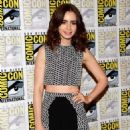 Lily Collins at Comic-Con International 2013 in San Diego, CA (July 19)