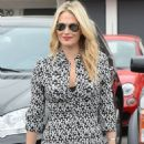 Molly Sims Out In West Hollywood