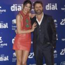 Laura Sanchez and David Ascanio - Cadena Dial Awards 2015 in Tenerife