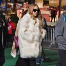 Mariah Carey arrives at the 89th Annual Macy's Thanksgiving Day Parade Rehearsals - Day 2 on November 24, 2015 in New York City