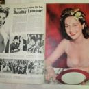Dorothy Lamour - Screen Guide Magazine Pictorial [United States] (March 1942) - 454 x 340