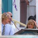 "Jennifer Aniston And Owen Wilson Filming ""Marley & Me"" In Miami, March 31 2008"