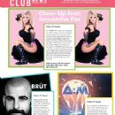 Samantha Fox – QX Magazine (August 2018)