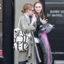 Lily Rose Depp – Shopping in Los Angeles - 454 x 681