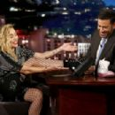 Miley Cyrus at Jimmy Kimmel Live! in Los Angeles - 454 x 303