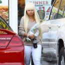 Blac Chyna Stops by Subway in Los Angeles, California - December 13, 2013