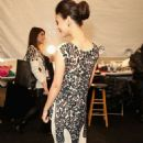 Victoria Justice Mara Hoffman Fashion Show In New York