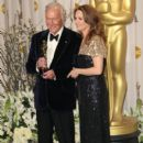 Christopher Plummer and Melissa Leo At The 84th Annual Academy Awards - Press Room (2012) - 398 x 594