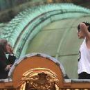 Gigi Hadid – On set of a Chanel Shoot at the Opera Garnier in Paris