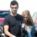 Taylor Lautner and his girlfriend  were seen leaving Fred Segal in West Hollywood, California on March 23, 2017