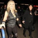 Samantha Fox and Her Partner Myra Stratton Rock Out 2012