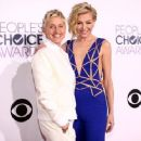 Portia de Rossi attend The 41st Annual People's Choice Awards at Nokia Theatre LA Live on January 7, 2015 in Los Angeles, California - 454 x 362
