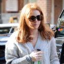 Amy Adams Battles the Wind in NYC (December 17, 2014)