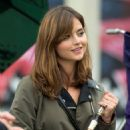 Behind the scenes with Doctor Who: Jenna Coleman wields the sonic screwdriver