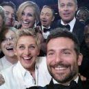 Ellen DeGeneres Takes Most Star-Studded Selfie EVER At 2014 Academy Awards