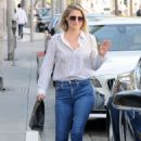 Ali Larter in Jeans Out in Los Angeles - 454 x 642