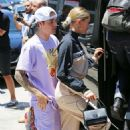 Hailey Baldwin and Justin Bieber – Leaves church in Los Angeles