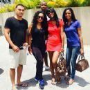 Blac Chyna Leaving Curacao - August 9, 2015
