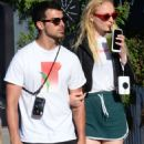 Sophie Turner with Joe Jonas out in Venice
