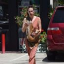 Scout Willis in Long Dress Out in Los Angeles - 454 x 583