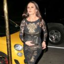 Catherine Zeta Jones – Arriving back at her apartment in New York