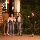 Barbara Palvin and Dylan Sprouse – Celebrating his birthday with friends in West Hollywood