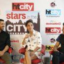 Starcast Of Movie 'Satyameva Jayate' Visit HT Media Office In Delhi - 454 x 303