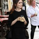 Lily Collins out in London (August 19)