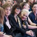 Nancy Shevell, Sir Paul McCartney, Chrissie Hynde; Rita Ora; Jamie Campbell Bower and Mary McCartney attend the Hunter Original show during London Fashion Week Spring Summer 2015 at on September 13, 2014 in London, England