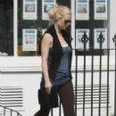 Gwyneth Paltrow Leaving The Pilates Gym In London, August 18