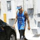 Justin Bieber and Jayde are seen departing the Equinox gym May 20,2015