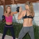 Ronda Rousey and Carmen Electra