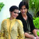 Some Pics Of Sonam & Shahid while promoting Mausam in Kolkata