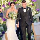 Nick Carter and Lauren Kitt Wedding Pics April 12, 2014 - 454 x 560