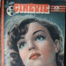 Simone Signoret - Cinevie Magazine Cover [France] (12 November 1946)