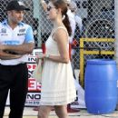 Ashley Judd - Firestone Indy 300 Homestead Miami Speedway - Oct 9 2009